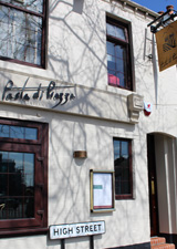 Exterior of Pasta Di Piazza, Newcastle