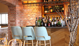 The bar at Newcastle Pasta Di Piazza
