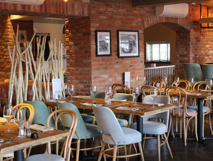 Interior of Newcastle Pasta Di Piazza